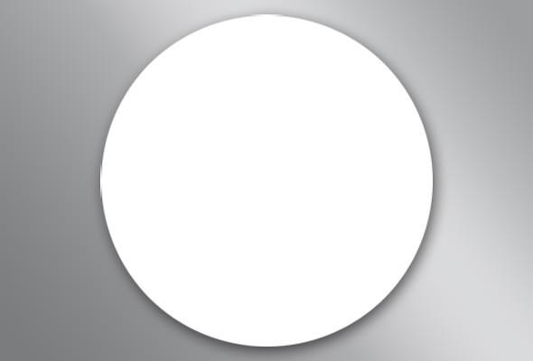 Runder Bierdeckel (blanko)